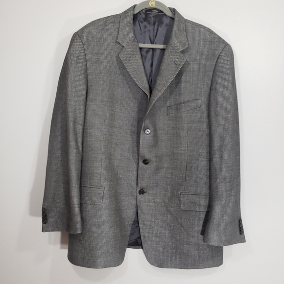 Joseph Abboud Other - JOSEPH ABBOUD silk & wool men's sport coat Sz 44R